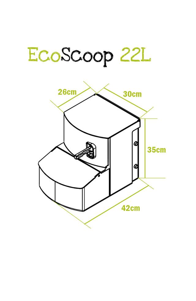 EcoScoop 22L - Scoop Bin