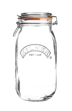 Clip top jar - 3L