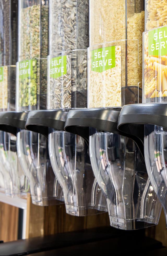 XeroFlo Gravity Bins - Gravity Dispensers